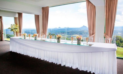 Wedding and Reception Room Glasshouse