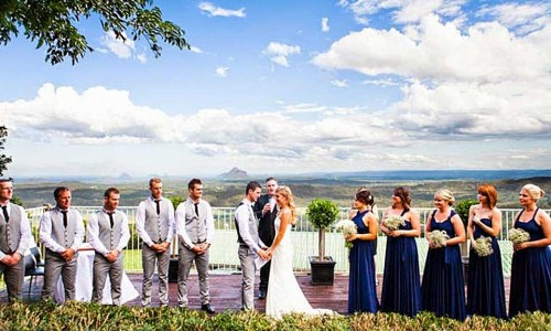 Married in Sunshine Coast Hinterland
