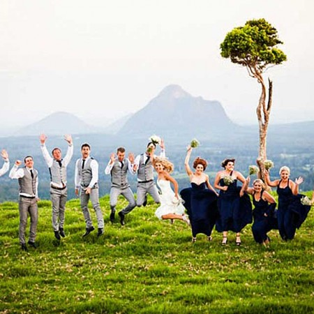 Married in the Sunshine Coast Hinterland